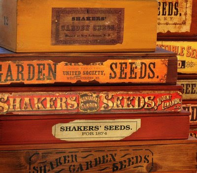aren't these antique seed boxes grand?