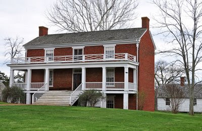 McLean House, the surrender site at Appomattox
