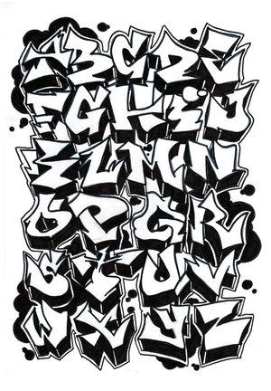 EL BLOG DE LANZA 78 LETRAS PARA GRAFFITIS