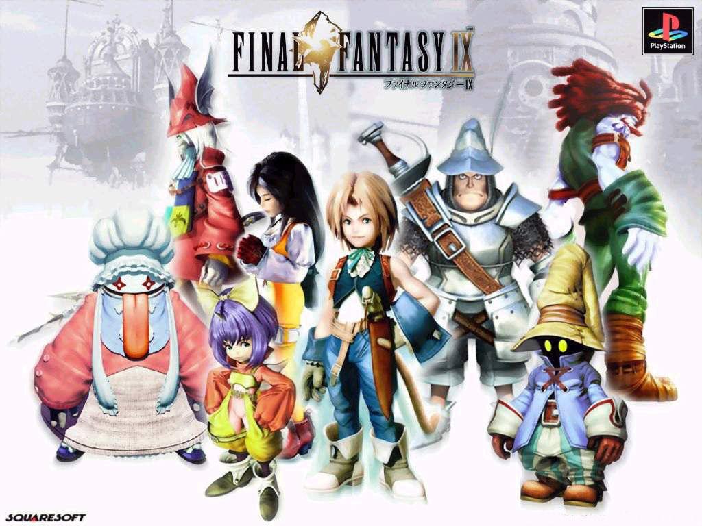 Back-Up Final Fantasy 9 - PS1