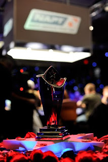 The trophy won by Tom Marchese at the NAPT Venetian Main Event