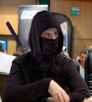 Viktor Blom as the 'ninja' character on Full Tilt Poker, the one used by Isildur1 (photoshop created by HillmanB on TwoPlusTwo)