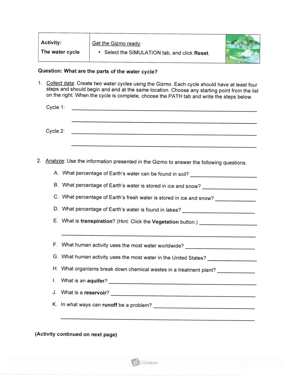 Drden S Sixth Grade Science Class Tuesday 12 October