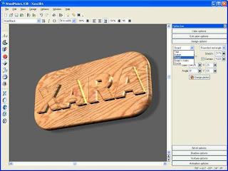 xara 3d text generator