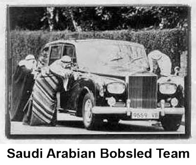 Saudi Arabian Bobsled Team
