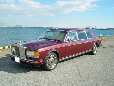 Rolls Royce Mulliner Park Ward Silver Spur Touring Limousine