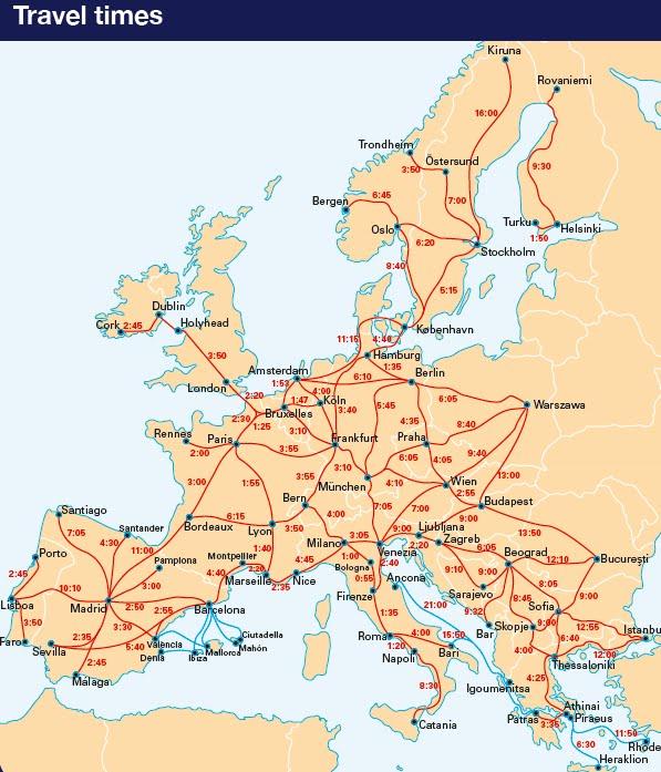 tog europa kart Margrethe's great adventure.: Togkart tog europa kart