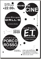 Cartel del Cine de Verano 2009