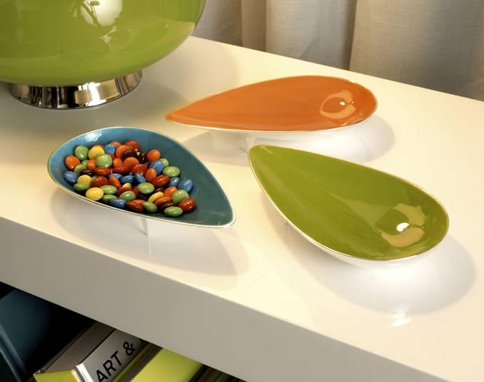 Enamel petal bowls from Jonathan Adler