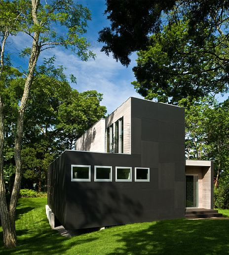 Contemporary Siding For Houses: ARCHITECT-TOUR: A SMALL MODERN VACATION HOME BUILT ON SOME