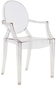 Clear Louis Ghost chairs
