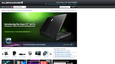 Alienware- High-Performance Systems - Notebooks, Desktop PCs, Workstations