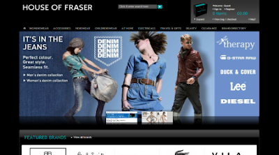 House of Fraser Online