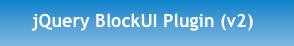 jquery block UI