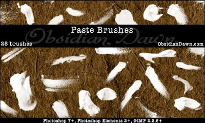 Paste Photoshop Brushes