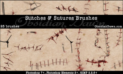 Stitches and Sutures Brushes