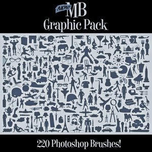 MB Graphic Pack 220 PS Brushes