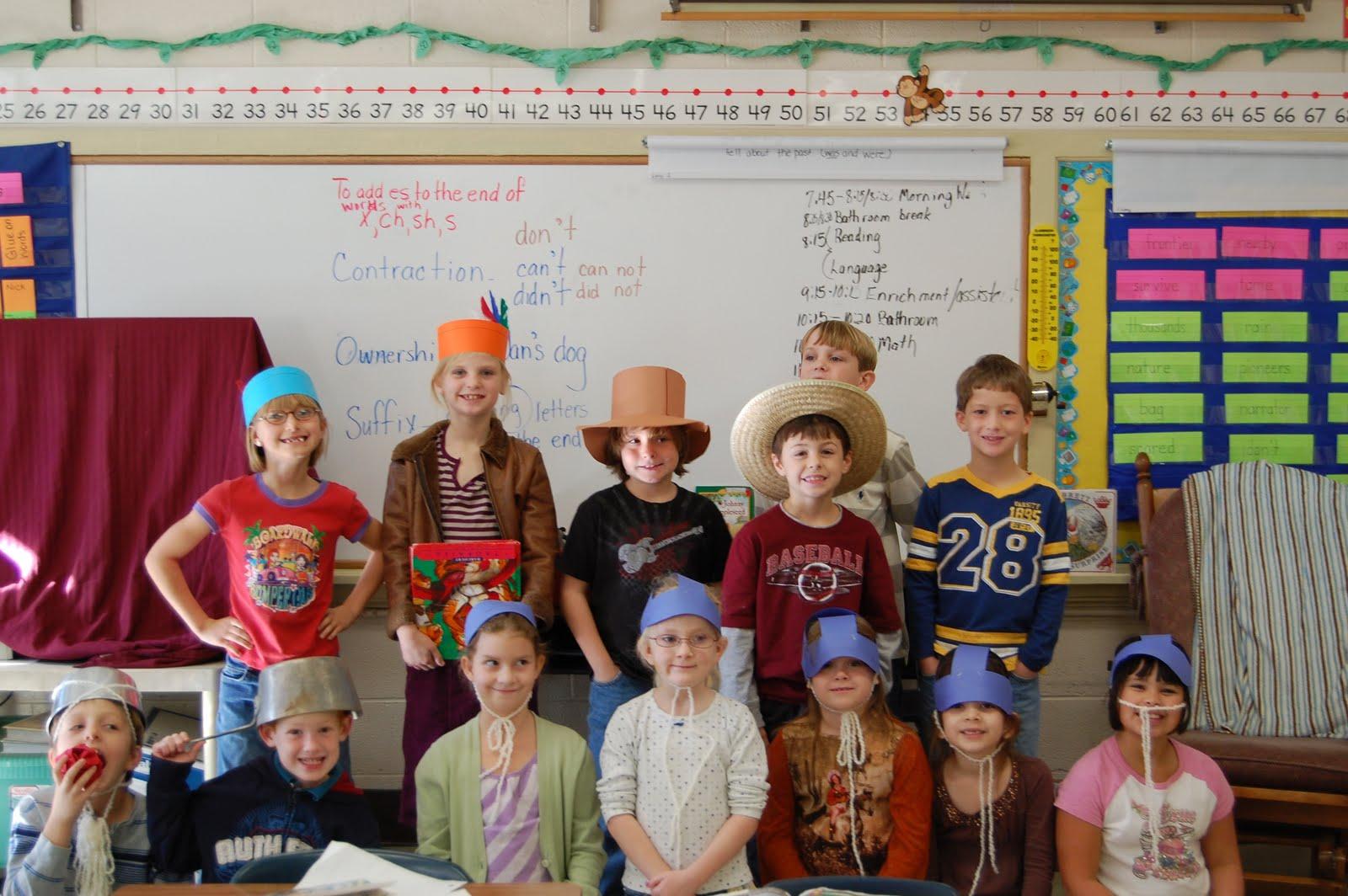 Dickson Elementary School 2nd Grade Johnny Appleseed