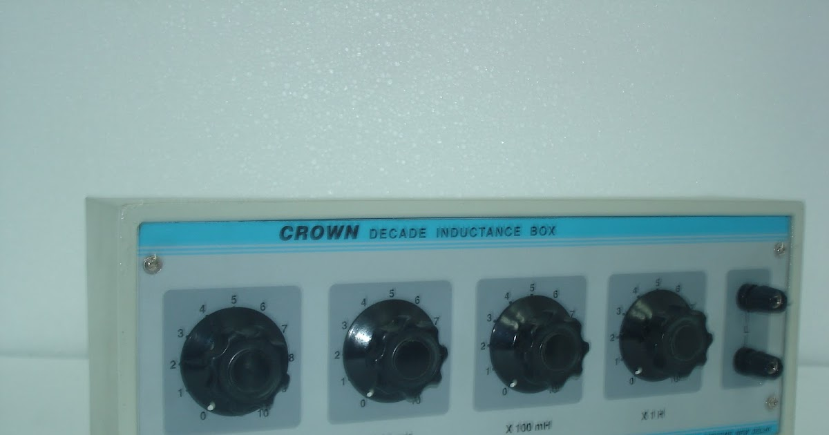 Decade Capacitance Resistance Box Inductance Box