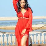 Shreya Saran In Hot Sexy Red Dress Photo Gallery