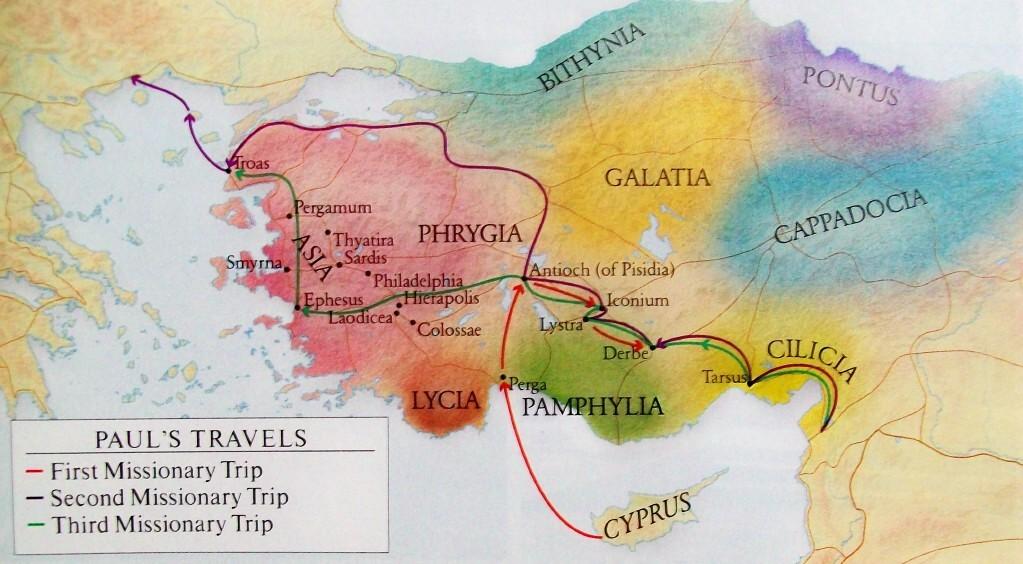 Shine Apostle Paul S Missionary Travels
