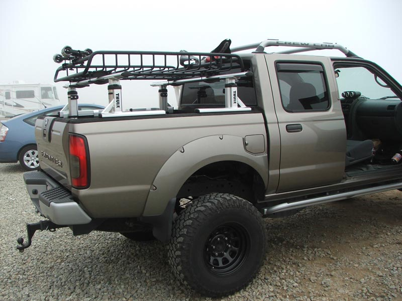 D22 Nissan Frontier Modifications/How to...: Thule ...