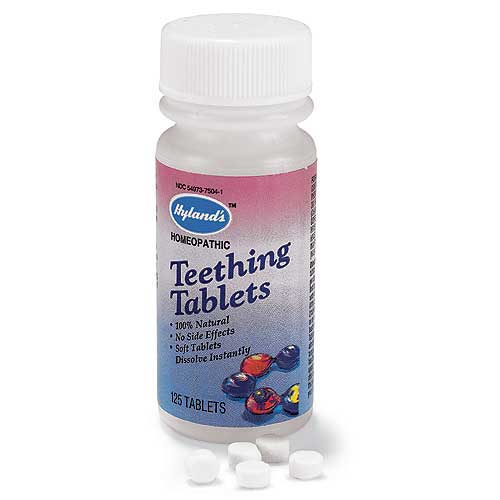 Best All Natural Teething Tablets