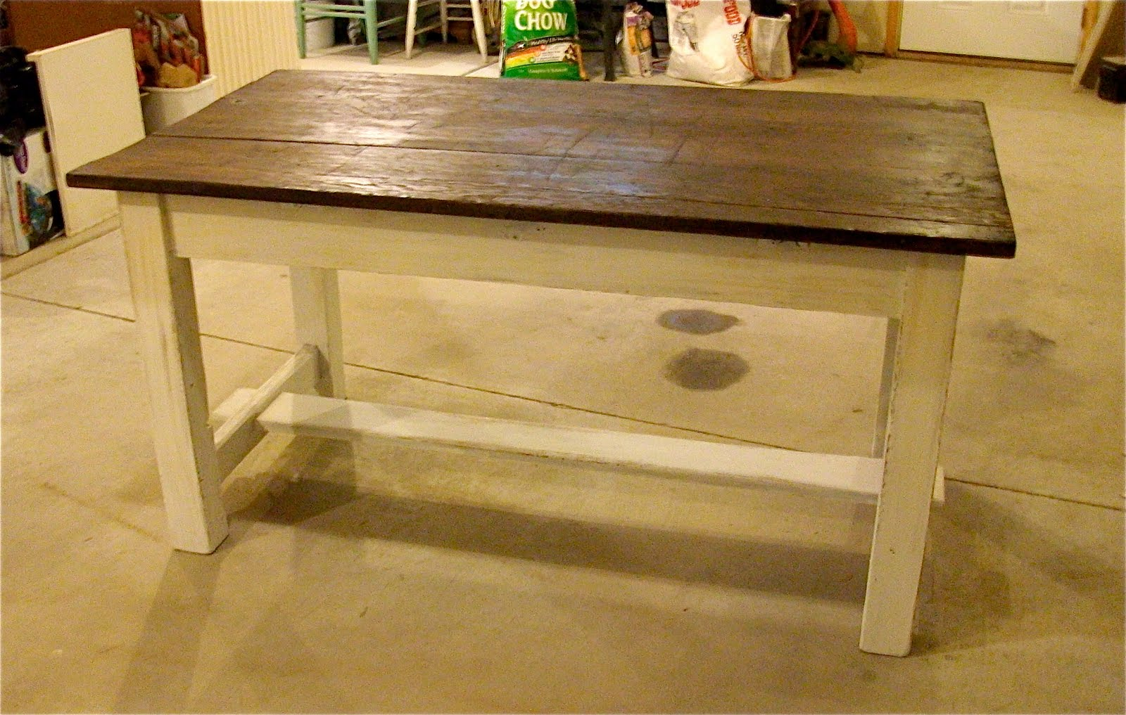 Fine Remodelaholic Old Workbench With A New Look Guest Pabps2019 Chair Design Images Pabps2019Com