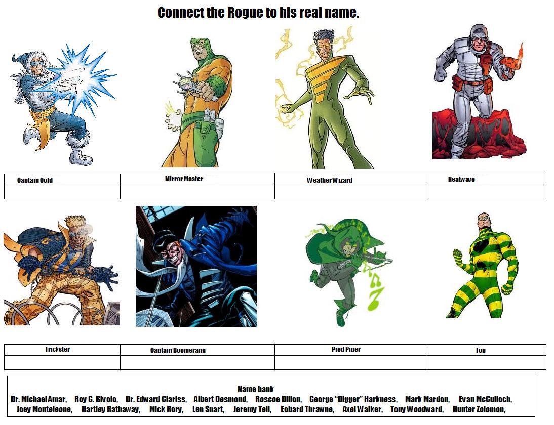 The Rogues DC Flash Vi...