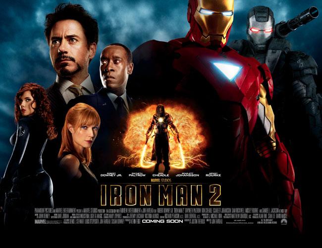 nuevo póster de Iron Man 2 : Pelicula Trailer