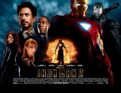 Affiche d'Iron man 2
