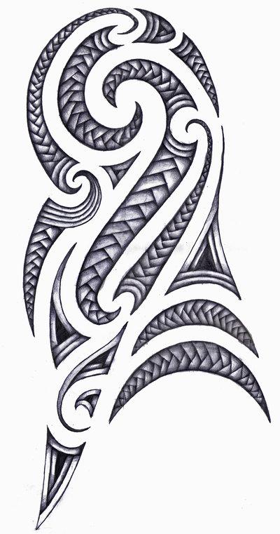 Maori Patterns Tattoo: Inked Tattoo Design: Maori Tattoo Design