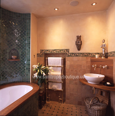 Bathroom Design Ideas: Spice Up Your Bathroom Moroccan Style