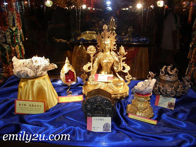 The World's Largest Buddha Relics & Tibetan Antiques Cultural Exhibition Series - Perak State [Spotted: Datuk Michelle Yeoh]