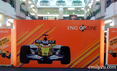 ING Renault F1 Team Roadshow @ Kinta City, Ipoh