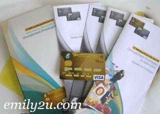 My Maybank Petronas Gold Visa Credit Card