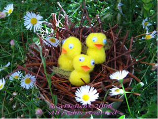 Easter Chicks in Nest Craft Project