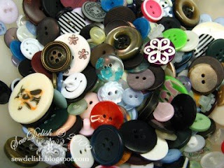 organise Buttons storage sort sewing craft organize how store button tutorial