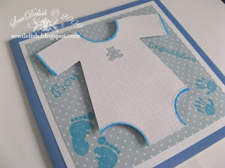Cricut Expression Plantin Schoolbook cut make baby onesie outfit card