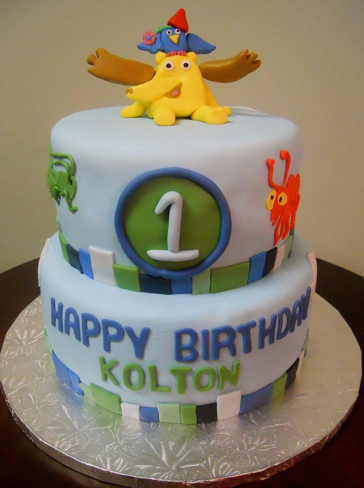 Lil Cake Lover Moose Zee 1st Birthday Cake