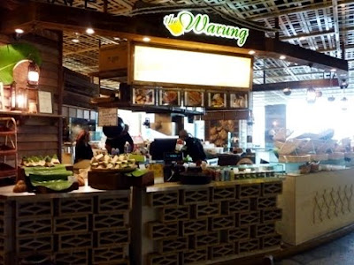The Warung & My walking journey back to Northpoint @ Mid