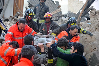 Civil Protection in Italy's earthquake