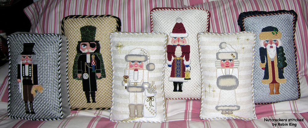 Needlepoint Study Hall Nutcrackers And Smokers