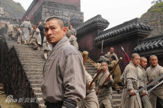 review movie shaolin 2011 by jackie chan and andy lau on february 2011