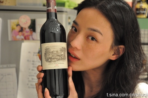 Roast Pork Sliced From A Rusty Cleaver: Shu Qi Back in the ...