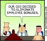 eliminate bonuses Dilbert