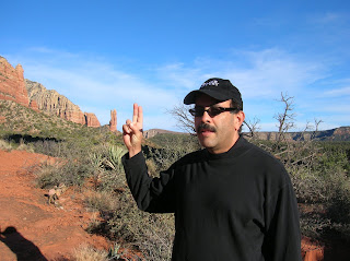 Lenny Campello near Sedona, Arizona