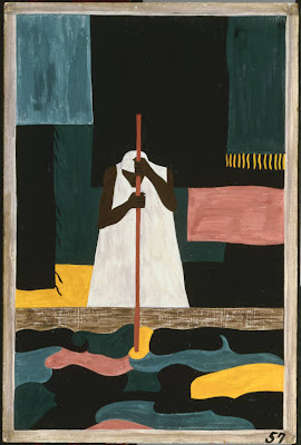 Jacob Lawrence, The female workers were the last to arrive north