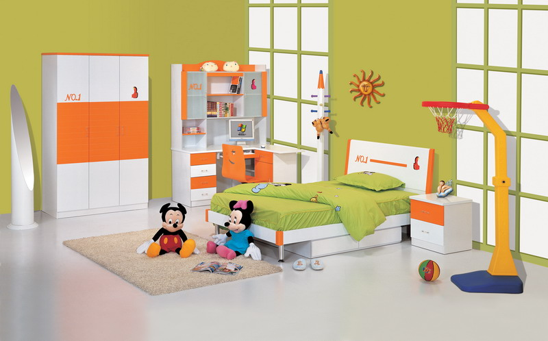 Home Interiors Blog: 50 Modern Children's Bed Room Designs [