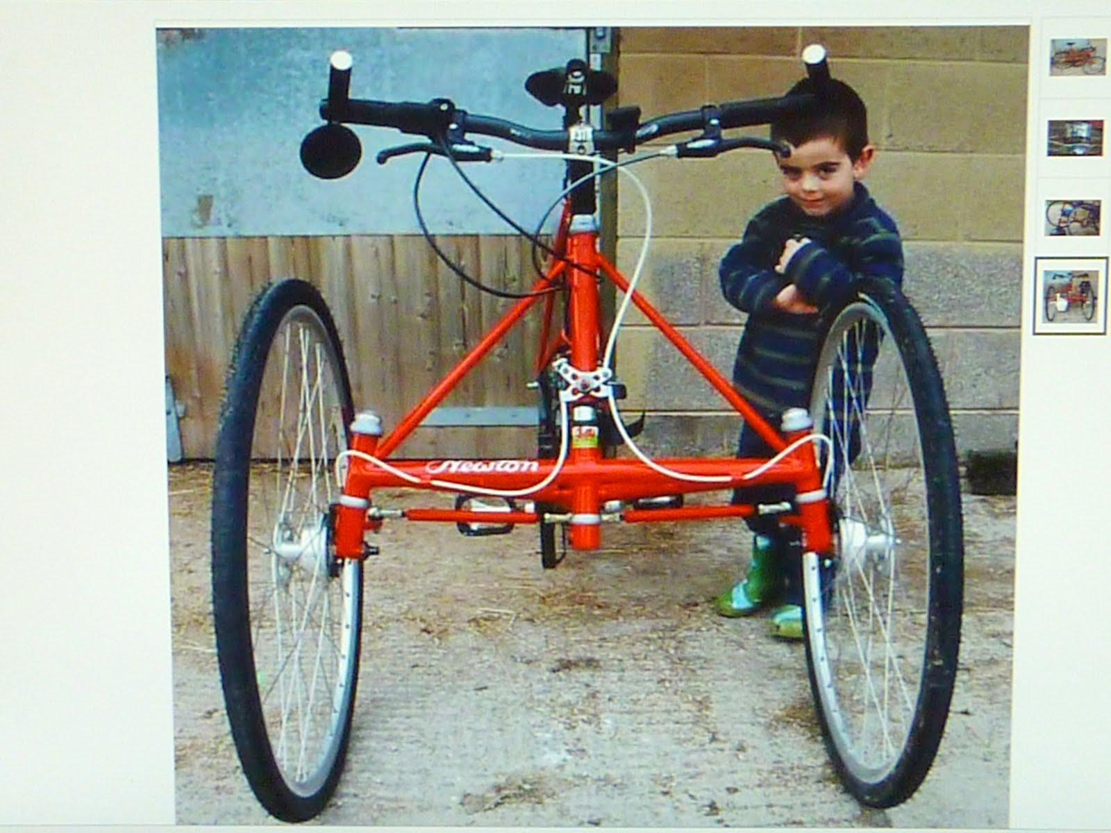 trikes and odd bikes newton trikes. Black Bedroom Furniture Sets. Home Design Ideas